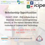 SCHOLARSHIP OPPORTUNITY FOR PhD