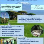 Sharing Kilimanjaro Water Workshop.