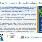 TWAS New Research Grant Programme for African Scientists